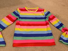 GAP Kids Striped Swim Long Sleeve Rash Guard Shirt Girls Sz L
