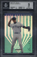 1995 Leaf Limited #14 Alex Rodriguez Mint BGS 9 Subs 9.5 Seattle Mariners