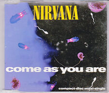 MAXI CD SINGLE 4T NIRVANA COME AS YOU ARE DE 1992 GERMANY GED 21715