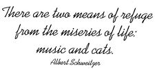 Unmounted Rubber Stamps, Sayings & Quotes, Humorous, Cat Sayings, Cats, Music