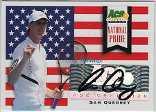 2013 Ace Grand Slam National Pride Auto: Sam Querrey-Autograph United States Usa
