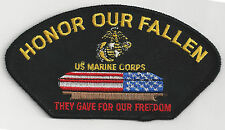 U.S. MARINES - HONOR OUR FALLEN - IRON ON PATCH