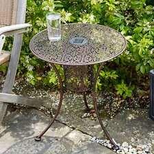 Smart Solar Illumina Silhouette Table de bistrot mobilier de jardin livraison rapide