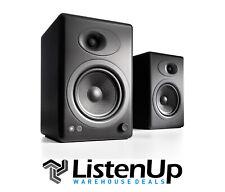 Audioengine A5+ Premium bookshelf speaker system (Black) - Authorized Dealer