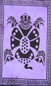 Tortoise Indian Frog Wall Hanging Tapestry Home Decor Poster Animal Bohemian New