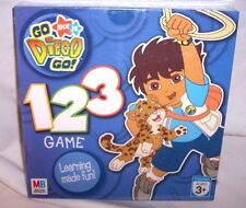 NEW AND FACTORY SEALED NIB Milton Bradley - Go Diego Go ! 123 Game