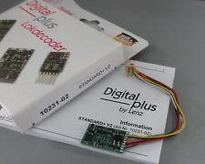 Lenz 10231-02 _ DCC - Digital Decoder Standard + V2_ RailCom _ 8 poliger Stecker