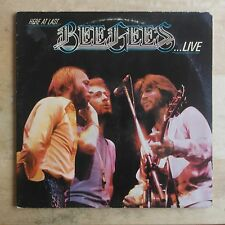 Bee Gees Here At Last - Live 1977 Vinyl LP RSO Records RS-2-3901