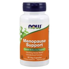 NOW FOODS Menopause Support  90 Caps FRESH Made In USA, FREE US SHIPPING