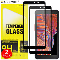 For Samsung Galaxy Xcover 5 - Full Coverage Tempered Glass Film Screen Protector