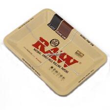 RAW Mini Rolling Smoking Tray Cigarette Accessory Metal Storage Tray CLSV