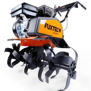 Gartenfräse Motorhacke Benzin Bodenhacke Bodenfräse Ackerfräse Kultivator FUXTEC