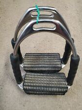 Herm Sprenger Original System 4-F Flexible English Stirrup Irons, Size 4 1/2