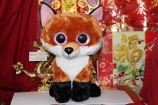 """Ty Beanie Boos Jumbo Slick The Fox.16"""".Justice Exclusive.2015.Mwnmt.Nice Gift"""