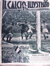 IL Calcio Illustrato 01/02/1951 Como Inter 3-1 Triestina Juventus 2-2  [GS35]
