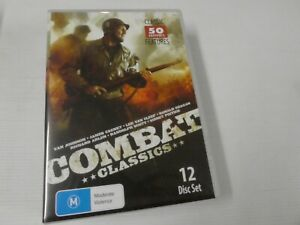 Combat Classics - Collection 50 Movies Features (DVD, Region 4, 12-Disc )GBL42