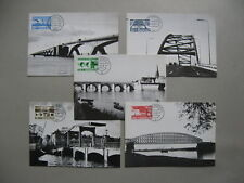 NETHERLANDS, 5x maximumcard maxi card 1968, bridges