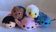 *NEW Disney Parks Lilo & Stitch Tsum Tsum Set Of 5 Duck Angel Lilo Jumba Stitch