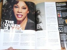 HX Magazine George Michael, Donna Summer The Queen Is Back, Katy Perry 2008 Gay