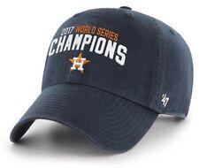 Houston Astros 47 Brand Strapback World Series Champions Dad Cap Hat Clean Up