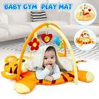 Baby Nursery Play Mat Rug Toddler Infant Lay With Fun Cartoon Hanging