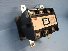 Abb Eh 260 Motor Contactor 2 Pole 300 Amp 600v 50hp 24v Dc Coil 1 Ph 2p 300a