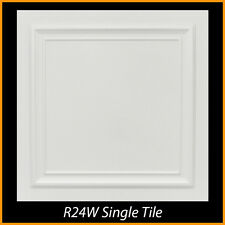 Ceiling Tiles Styrofoam Glue Up 20x20 R24W White Super Sale