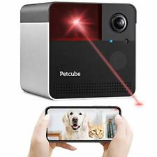 Petcube Play Interactive Laser Toy - 1080p Wi-Fi Camera - Matte Silver