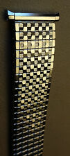New Stainless Steel Expansion 18-22mm Special Ends Silver Tone Watch Band