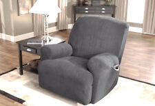 NEW Sure fit metro gray recliner slip cover slipcover