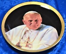 """Pope John Paul Ii Collection Vision of Peace Collector Plate 8"""" numbered"""
