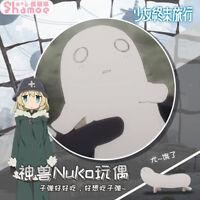 Anime Girl's Last Tour Nuko Chito Yuuri Plush Dolls Toy Pillow Cushion Xmas Gift