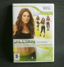 JILLIAN MICHAELS FITNESS ULTIMATUM Nintendo Wii Balance Board Compatible MINT