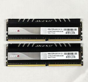 AVEXIR Core Series 16GB (2x8GB) DDR4-2400 PC4-19200 288-Pin Desktop PC Memory
