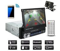 """Car Stereo Audio Radio Bluetooth 7"""" HD Touch Screen Monitor Mp5 Sd Usb Player"""