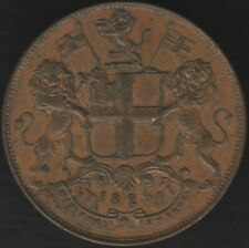 More details for 1825 british india madras presidency 4 pies 'right tip up' | pennies2pounds