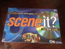 SCENE IT? The Original Movie DVD Board Game Optreve Mattel Movie Trivia BNIB
