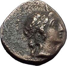 ALEXANDER the GREAT Portrait 167BC Kaunos Caria Ancient Greek Coin Sword i59657