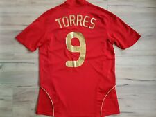 SPAIN! ESPANA! 2008-09! TORRES shirt trikot maglia camiseta kit! 5/6 ! M adult@