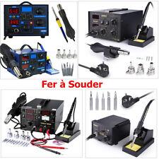 Station de Soudage Fer à Souder Air Chaud Soudure Électrique SMD Numérique LCD