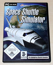 Space Shuttle simulador-PC CD ROM-fiel al original simulación espacial