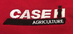 Case Tractor Embroidered T-Shirt - 48 colours- Small to 3XL