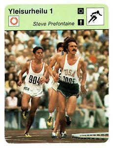 1978 Sportscaster Steve Prefontaine 1972 Olympic 5000 Munich Finnish Variant