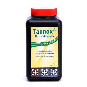 Rostumwandler Tannox Roststabilisator Kluthe Roststopp 1000ml T1000