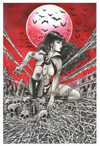Vengeance of Vampirella 1 Steven Butler Virgin Variant Port City Comics