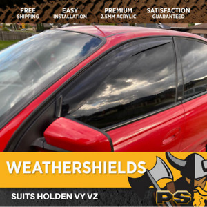 Weather shields Window Visors for Holden Commodore VT VX VU WH WK WL VY VZ