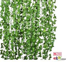 Artificial Ivy Leaf Garland Plants 84 Ft 12 Pack Vine wedding Life-Like Garden
