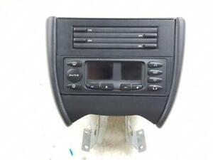 1996-2004 986 PORSCHE BOXSTER HEATER CONTROL & CD HOLDER CONSOLE