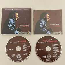 Neil Diamond12 Songs CD 2-Disc Set Limited Edition Artist's Cut With Booklet