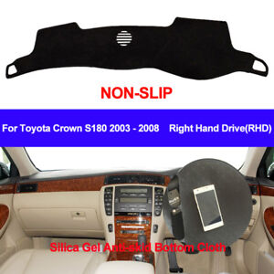 Car Dash Mat Dashboard Cover Toyota Crown S180 2003 2004 2005 2006 2007 2008
